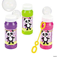 Panda Bubble Bottles