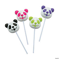 Panda Character Suckers