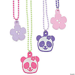 Panda Party Beaded Necklaces