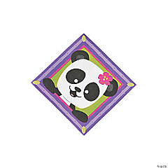 Panda Party Beverage Napkins