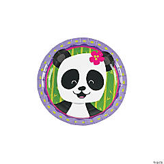 Panda Party Paper Dessert Plates  sc 1 st  Oriental Trading & Save on Panda | Oriental Trading