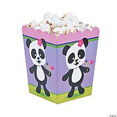 Panda Party Popcorn Boxes