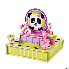 Panda Party Tray with Cones