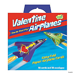 Paper Airplane Super Fun Valentines Pack