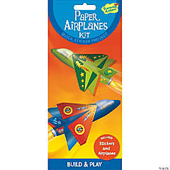 Paper Airplanes Quick Sticker Kit