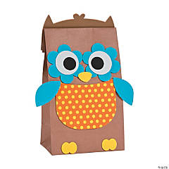 Paper Bag Owl Craft Kit