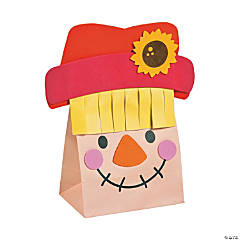 Paper Bag Scarecrow Craft Kit