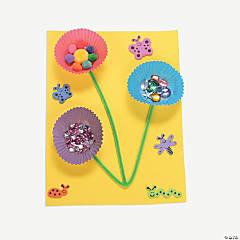 Paper Cup Flowers Idea