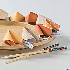 Paper Fortune Cookies Idea