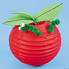 Paper Lantern Apple Idea