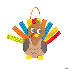 Paper Loop Turkey Door Decoration Craft Kit