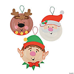 Paper Plate Holiday Characters Craft Kit
