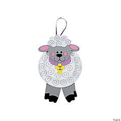 Paper Plate Lamb of God Craft Kit
