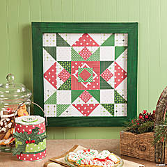 Paper Quilt Block Star Idea