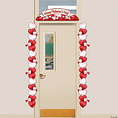 Paper Valentine Door Border