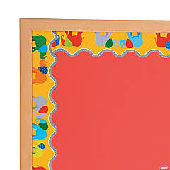 Parade of Elephants Scalloped Bulletin Board Borders