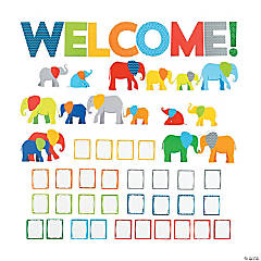 Parade of Elephants Welcome Bulletin Board Set
