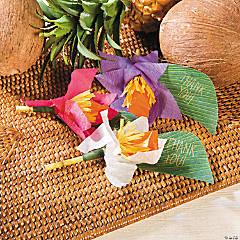 Paradise Safari Flower Favor Idea