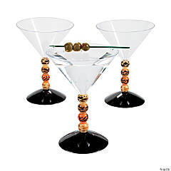 Paradise Safari Plastic Martini Glasses