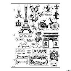 Paris Clear Stamps