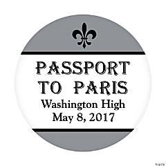 Paris Personalized Stickers