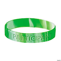 Participation Rubber Bracelets