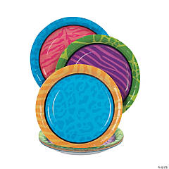 Party Animal Paper Dessert Plates