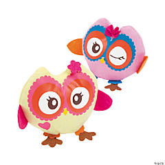 Party Stuffed Owls