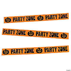 Party Zone Streamer Halloween Décor