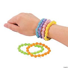 Pastel Bead Bracelets