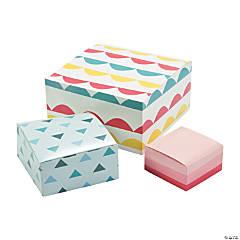 Pastel Design Gift Boxes