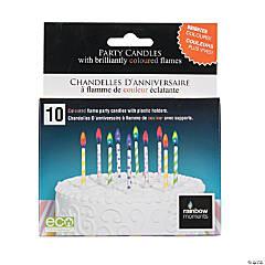 Pastel Dots & Stripes Candles