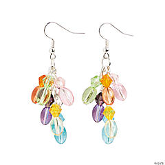 Pastel Egg Earring Craft Kit