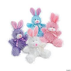 Pastel Furry Stuffed Bunnies