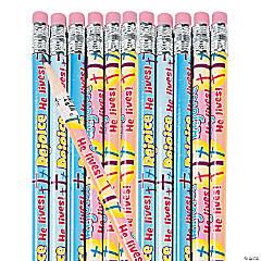 Pastel He Lives Pencils
