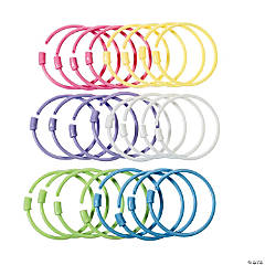 Pastel Pony Bead Bracelets