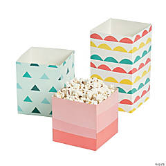 Pastel Treat Buckets