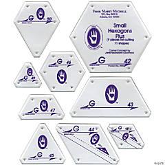 Patchwork Template-Set G - Small Hexagon
