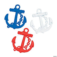 Patriotic Anchor Charms