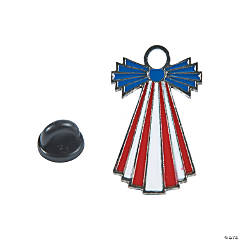Patriotic Angel Pins