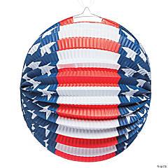 Patriotic Balloon Hanging Paper Lantern