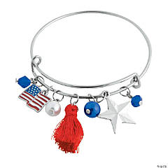 Patriotic Bangle Bracelet Craft Kit