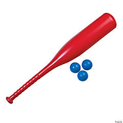 Patriotic Bat & Ball Set