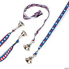 Patriotic Bell Necklaces