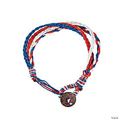 Patriotic Braided Bracelets