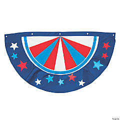 Patriotic Bunting with Stars