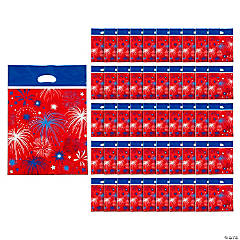 Patriotic Burst Parade Favor Bags