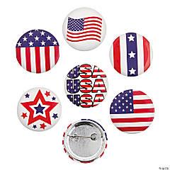Patriotic Buttons