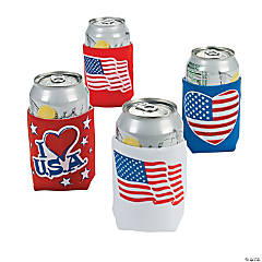 Patriotic Can Covers