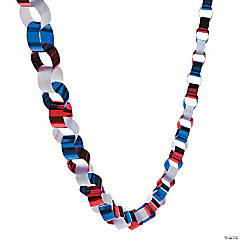Patriotic Chain Link Garland